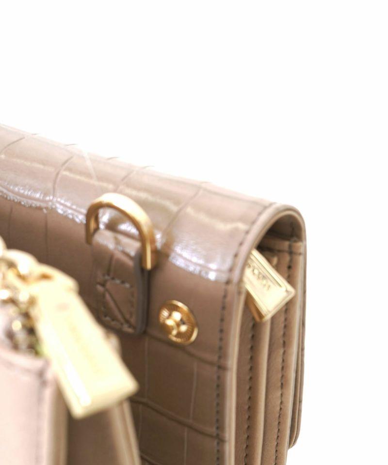 お財布はスナップボタンで取り外し可能
