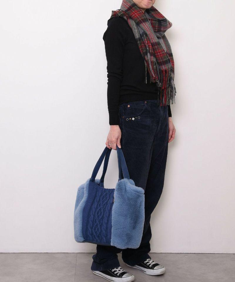 モデル163cm ブルー